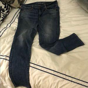America Eagle Skinny Stretch Jeans- Size 12